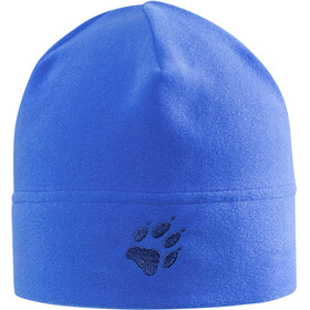 Jack Wolfskin Real Stuff Fleece Hat Kids coastal blue